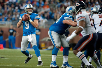 Matthew Stafford topped 5,000 passing yards in 2013.