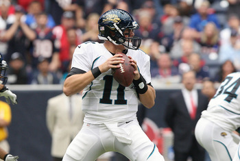 Will Blaine Gabbert retain the starting job for all of 2013?