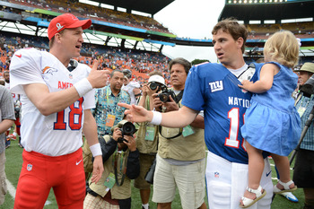 2013 Pro Bowl was a Manning-family affair.