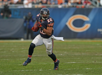 Chicago Bears running back Matt Forte.