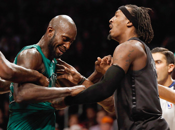 A mini-rivalry has formed between the Celtics and Nets.