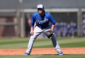 3B Mike Moustakas