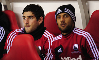 Danny Graham (left).