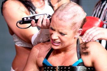 Head Shaved Molly Holly