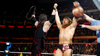 Team Hell No (photo courtesy of WWE.com)