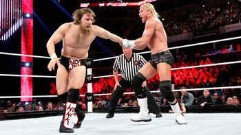 Daniel Bryan and Dolph Ziggler (photo courtesy of WWE.com)