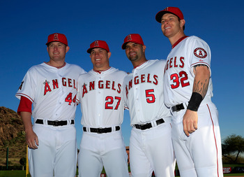Trumbo, Trout, Pujols and Hamilton will terrorize AL pitching.