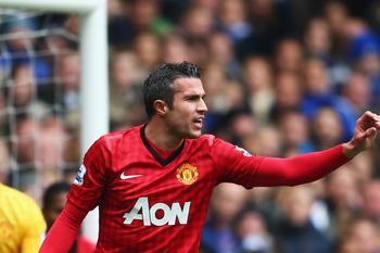Van Persie enjoyed a blistering start to his Manchester United career