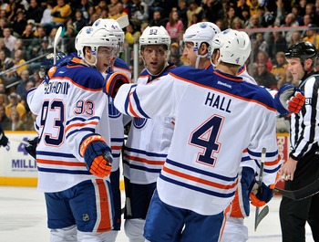 Could the Oilers sneak into a playoff spot? If they keep playing this way, they probably will.