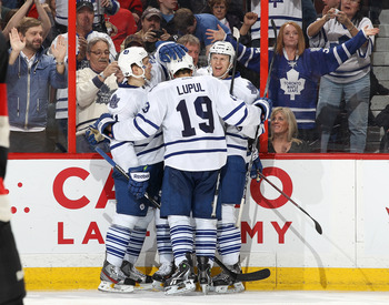 Joffrey Lupul came back to the Leafs in exciting fashion this week with nine points.