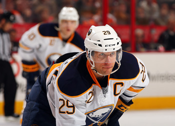 What has happened to the Sabres' captain? Jason Pominville was held scoreless again this week.