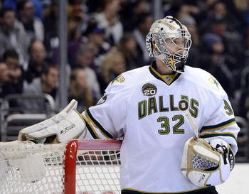 Kari Lehtonen struggled this week against the Minnesota Wild. He gave up nine goals in two appearances against the Wild.