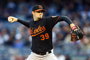 Jason Hammel will take the mound for the Orioles on Opening Day.