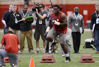 Chance Warmack should be in play at No. 7 on April 25.