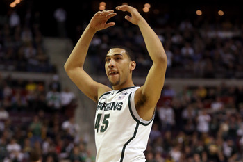 Denzel Valentine provided valuable minutes off the bench.