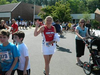 Tammy Stapleton of Reading, MA at last years Holland 5K