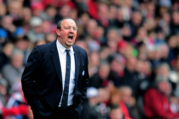 Rafa Benitez will be ringing the changes on Monday.