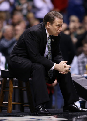 Tom Izzo had difficulties coaching this year's team, but he still reached the Sweet 16.