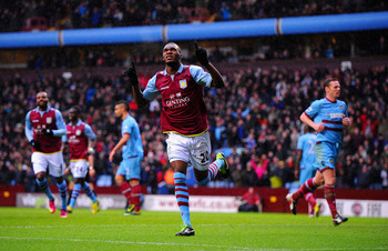 Benteke's 13 league goals this season have staved off Villa's demise