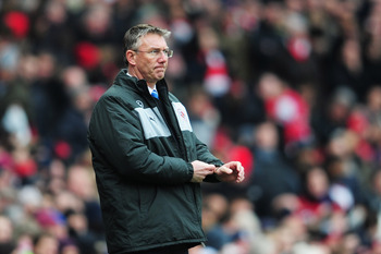 Nigel Adkins has the almost impossible task of rescuing his new club from relegation