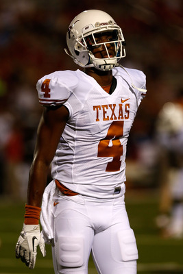 Cayleb Jones' arrest probably cost Texas its best blocking receiver for the season.