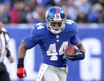 Injury woes aside, Ahmad Bradshaw is a great option for what a team would have to may him.