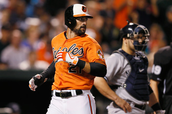 Baltimore Orioles' right fielder Nick Markakis seems to have found himself a new role as the Orioles' leadoff hitter.
