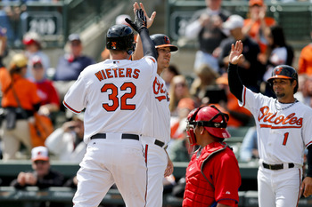 Catcher Matt Wieters will likely be filling the Orioles' clean-up role this coming season.