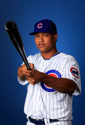 Cubs' shortstop Starlin Castro.