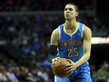 New Orleans Hornets' Austin Rivers