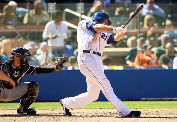 Duda recovered to post decent overall numbers in spring training, but he did not get a hit in over half of his games.