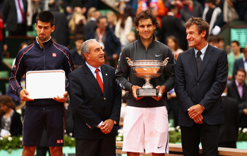 2012 FRENCH OPEN FINALISTS