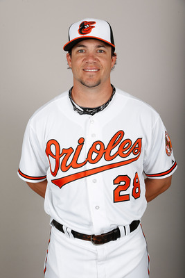 Steve Pearce rejoins the Orioles for the 2013 season after a brief stint with them in 2012.