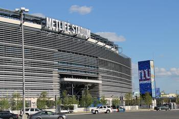MetLife Stadium in ideal weather conditions. (Photo from MetLifeStadium.com)