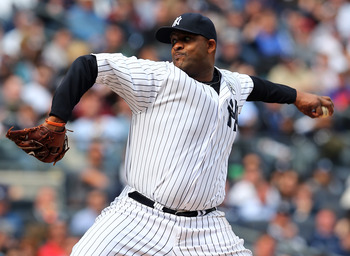 CC Sabathia really struggled in an Opening Day loss against Boston.