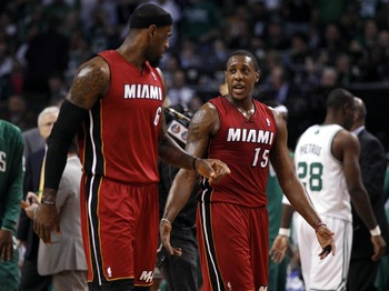 LeBron James is constantly instructing—and sometimes berating—Mario Chalmers on the court.