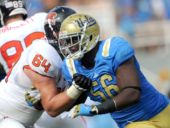 Defensive end Datone Jones would help bolster the 49ers' pass rush.