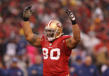 Isaac Sopoaga was the 49ers' starting nose tackle.