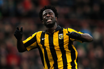 Virtesse Arnhem's Wilifried Bony would be a phenomenal player for Chelsea to sign over the summer transfer window and could be a big part in helping Jose Mourinho and the Blues get back to the place they want to be.