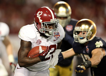 Alabama's Eddie Lacy