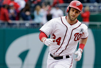 Bryce Harper's second playoff appearance in as many seasons will yield much better results.