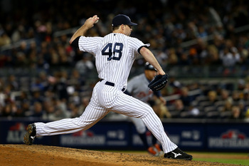 Boone Logan is the only left handed reliever on the New York Yankees' active roster