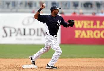 Eduardo Nunez will be expected to carry much of the load early on in 2013 for a depleted Yankees infield