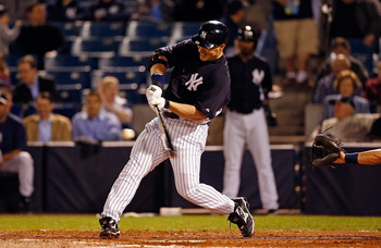 Travis Hafner is another seasoned veteran hoping to provide the Yankees with production off the bench