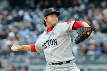 Junichi Tazawa and the rest of the relievers look great.