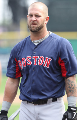 There is a lot of pressure on Mike Napoli to hit for power.