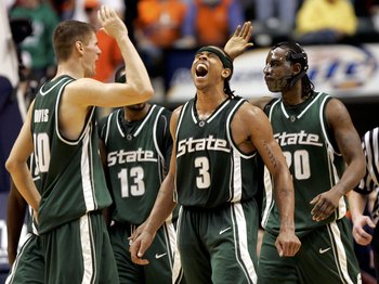 Paul Davis (far left) and Shannon Brown (middle) are two examples of great Izzo era stars.
