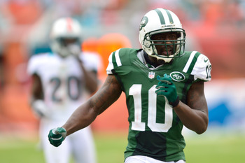Santonio Holmes is one of many good weapons the Jets could offer Smith.