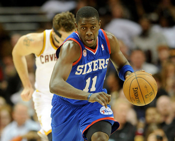 Philadelphia 76ers' Jrue Holiday