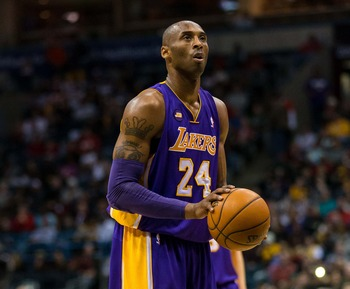 Los Angeles Lakers' Kobe Bryant
